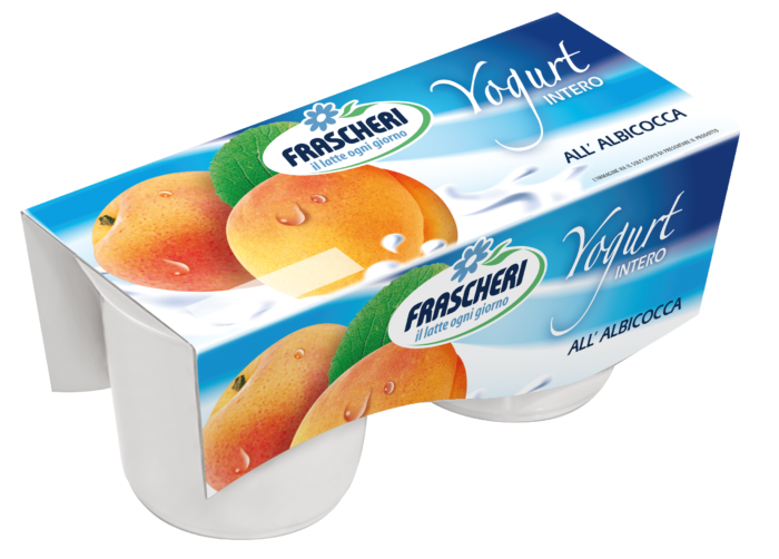 Yogurt Tesori della Terra Intero Albicocca