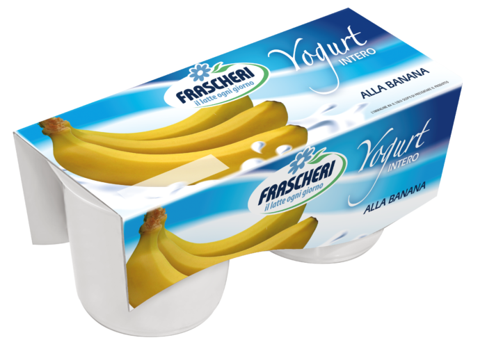 Yogurt Tesori della Terra Intero Banana