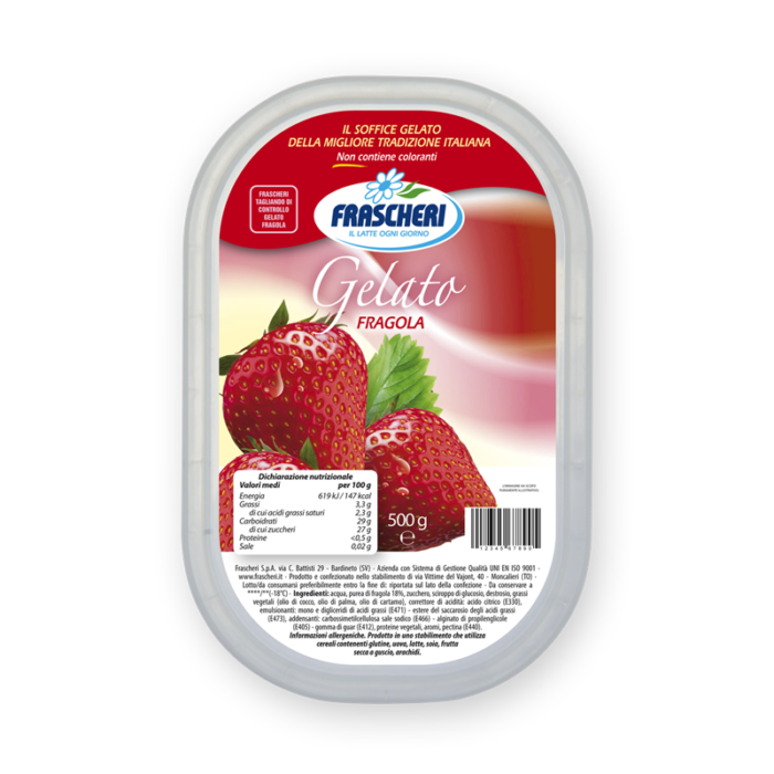Strawberry ice cream Frascheri