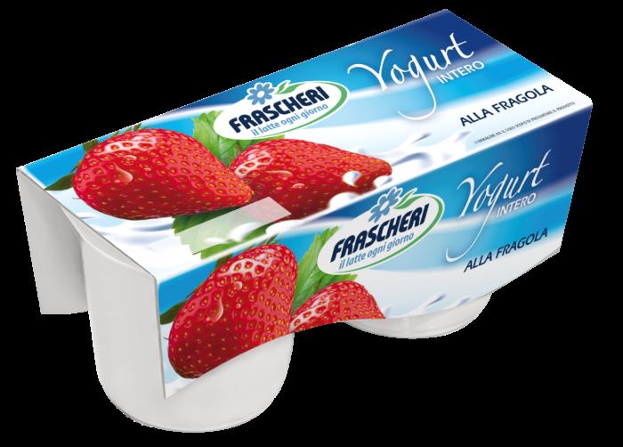 Yogurt Tesori della Terra Intero Fragola