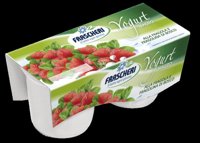 Yogurt magro fragoline