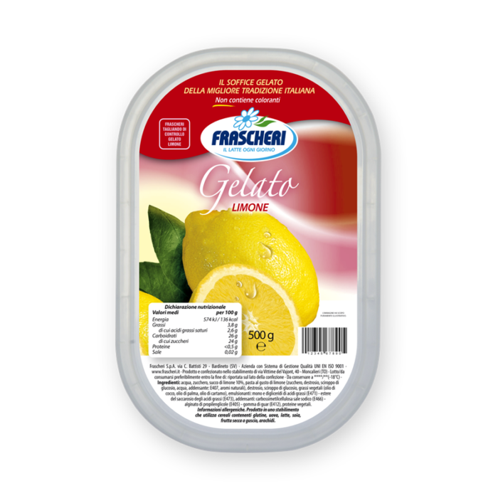 Gelato al limone Frascheri
