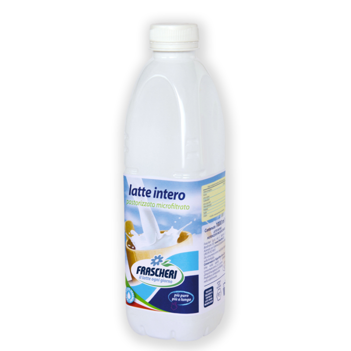 Pasteurized microfiltered whole milk