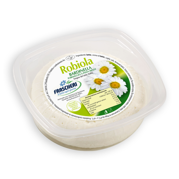 Bardinella robiola cheese