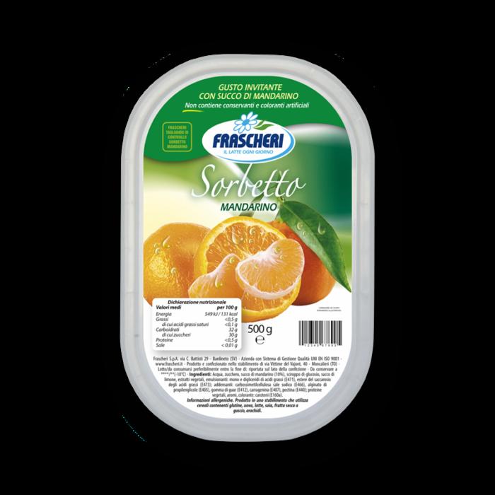 Sorbetto al mandarino Frascheri