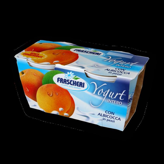 Yogurt intero alle albicocche Frascheri