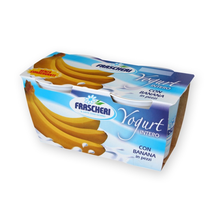 Yogurt intero alla banana Frascheri