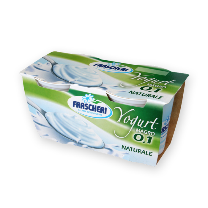 Yogurt magro bianco naturale Frascheri