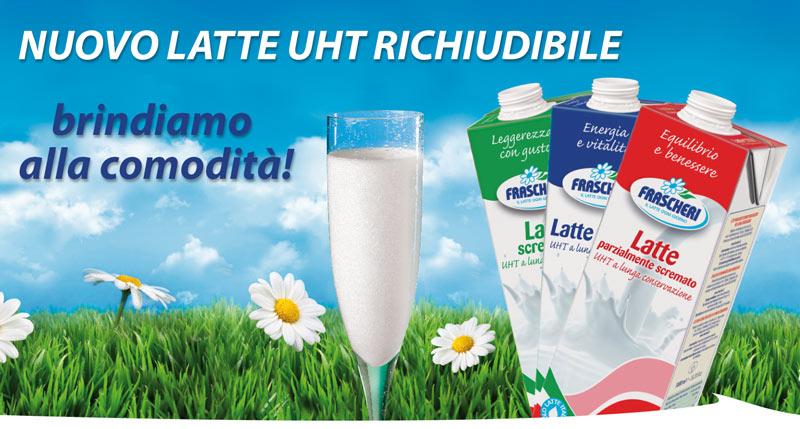 Nuovo contenitore per il latte UHT