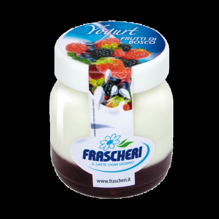 Yogurt intero con confettura extra di frutti di bosco