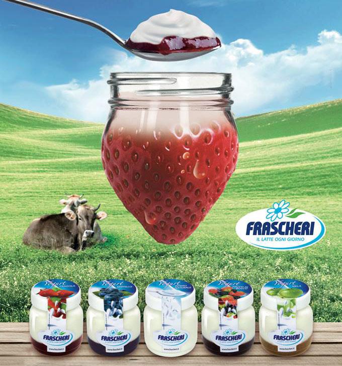 Nuovi yogurt con latte della Valtellina e confettura extra
