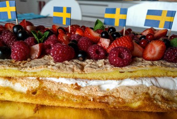 Torta svedese per l'Estate