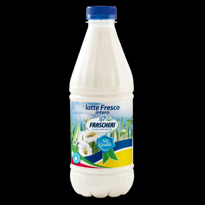 High quality fresh whole milk