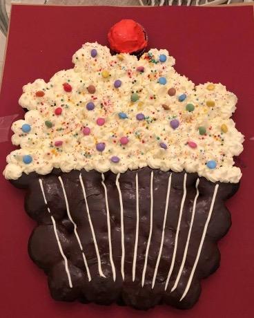 Torta cupcake – Le ricette di Nonna Leti