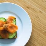 Pane di farro con Bardinello cetriolo e salmone