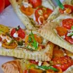 Sfogliatine con pomodorini e Bardinello