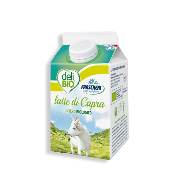 Organic whole goat's ESL milk