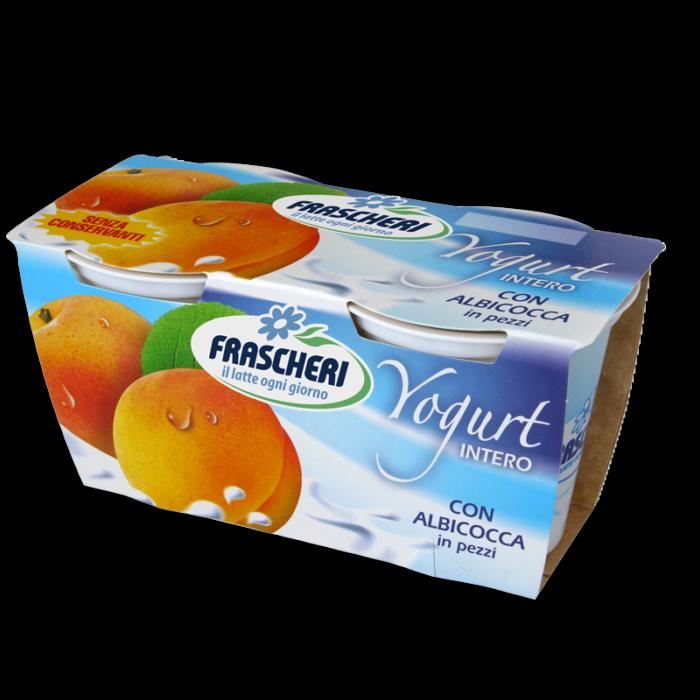 Yogurt intero alla frutta con Albicocche