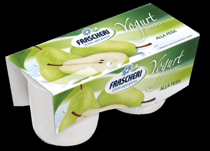 Yogurt magro pera