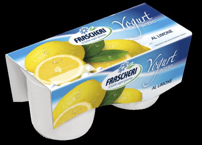 Yogurt int limone
